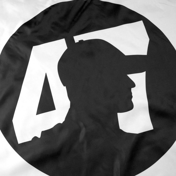 Mick Schumacher Drapeau Round Logo