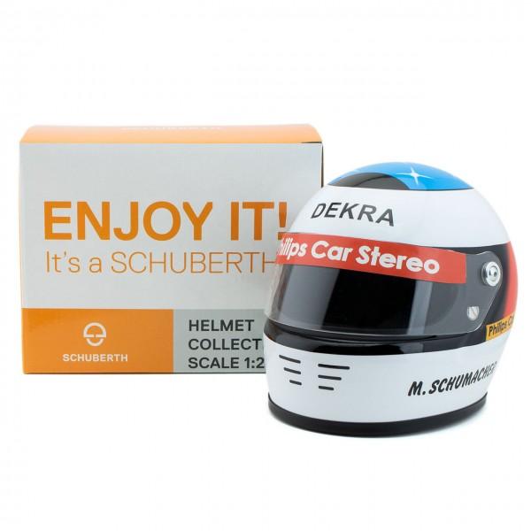Michael Schumacher Helmet First GP Race 1991 1/2