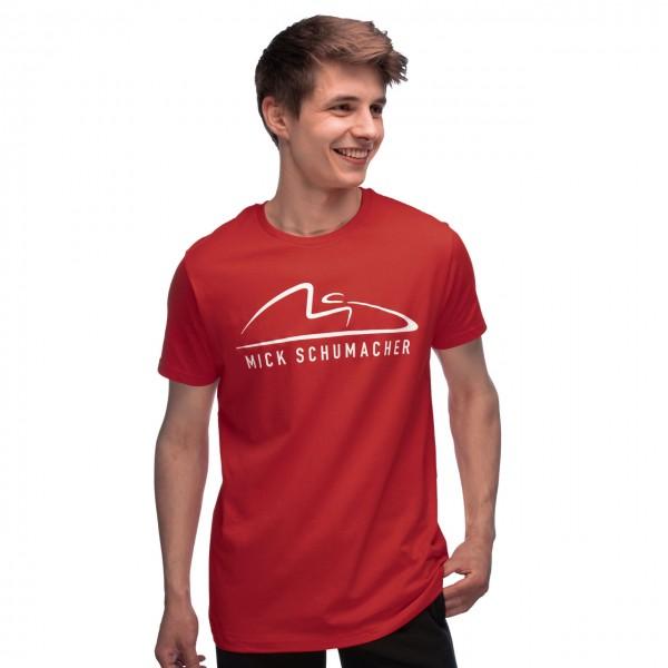 Mick Schumacher T-Shirt Speed Logo rot