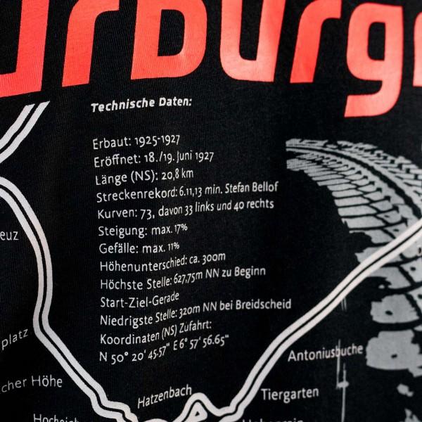 Nürburgring T-Shirt Nordschleife black