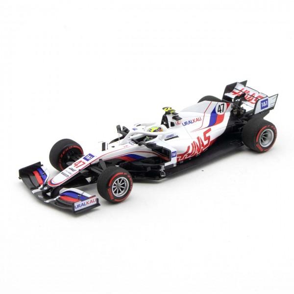 Mick Schumacher Uralkali Haas F1 Team VF-21 Fórmula 1 GP de Bahrein 2021 Edición limitada 1/43