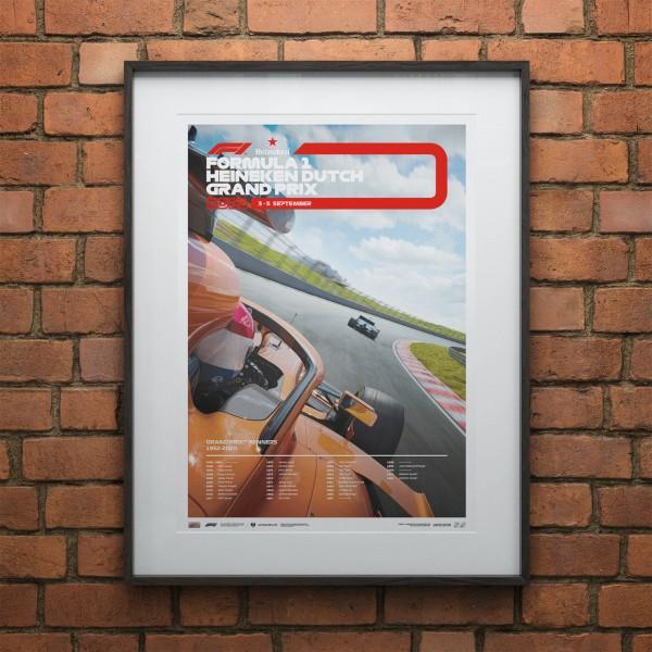 Poster Formula 1 - Dutch Grand Prix 2021 - Limited Edition
