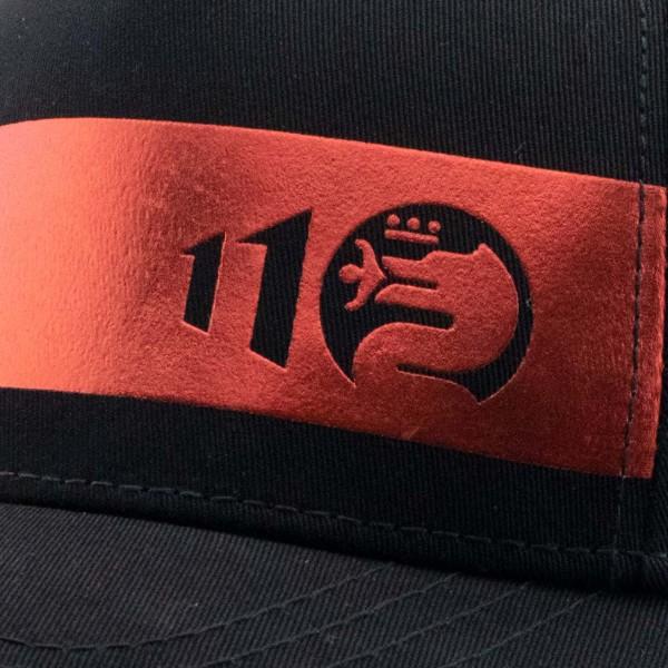 Alfa Romeo Lifestyle 110 Cap Metallic Line black