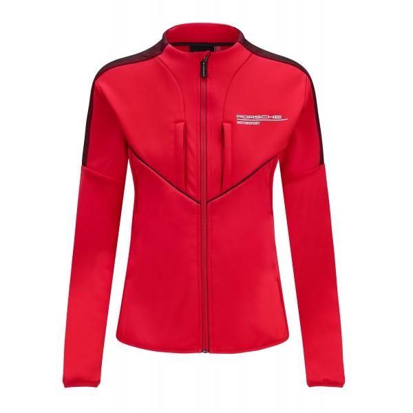 Porsche Motorsport Ladies Softshell Jacket red