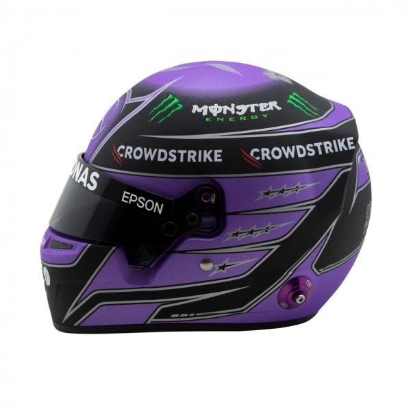 Lewis Hamilton miniature helmet 2021 1/2