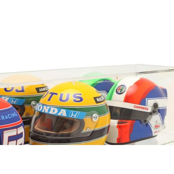 Vitrine für Helme im Maßstab 1:2 oder Modellautos im Maßstab 1:18 verspiegelt