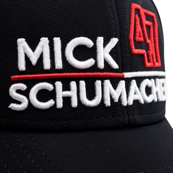 Mick Schumacher Cap 47 schwarz