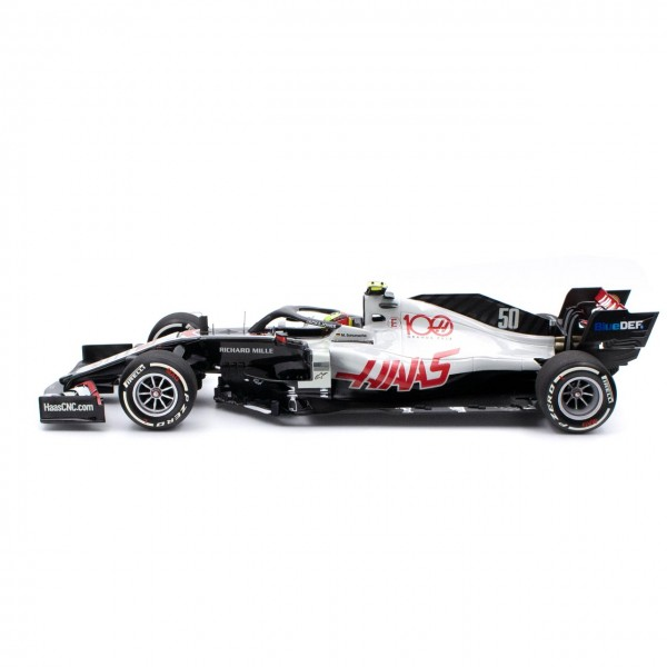 Mick Schumacher Haas F1 Team Testfahrt Abu Dhabi 2020 1:18