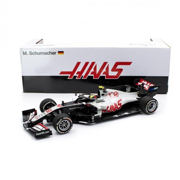 Mick Schumacher Haas F1 Team Test Drive Abu Dhabi 2020 1/18