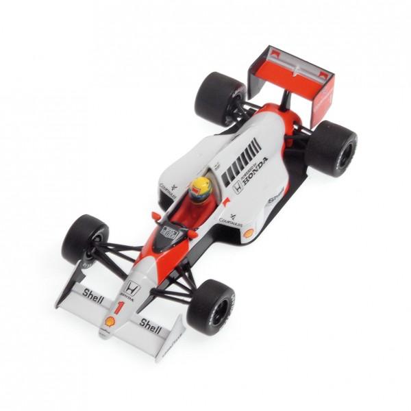 Ayrton Senna McLaren MP4/5 #1 Fórmula 1 1989 1/43