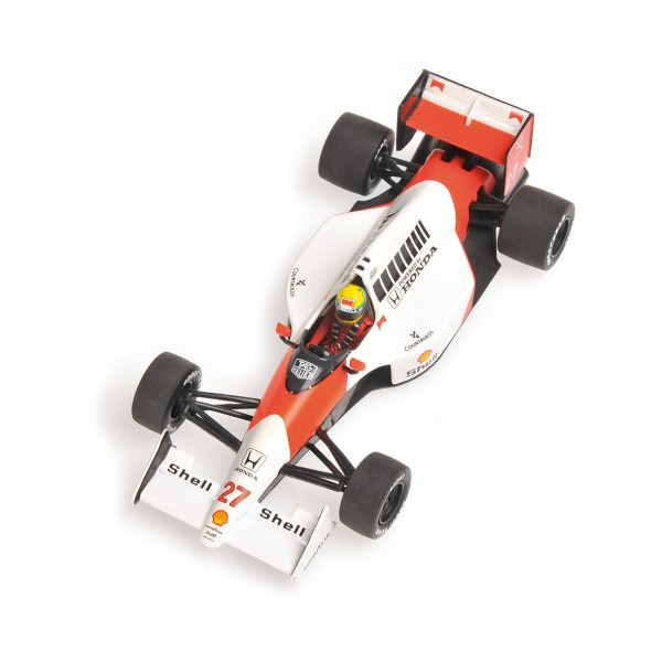 Ayrton Senna McLaren Honda MP 4/5B Champion du Monde 1990 1/43