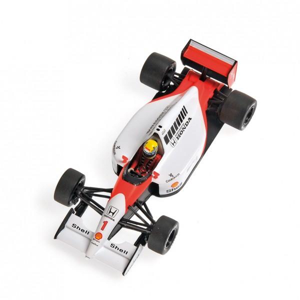 Ayrton Senna Minichamps McLaren Honda MP4/6 1991 1:43