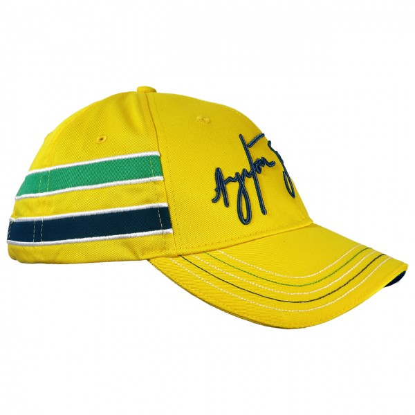 Ayrton Senna Cap Senna Helmet right