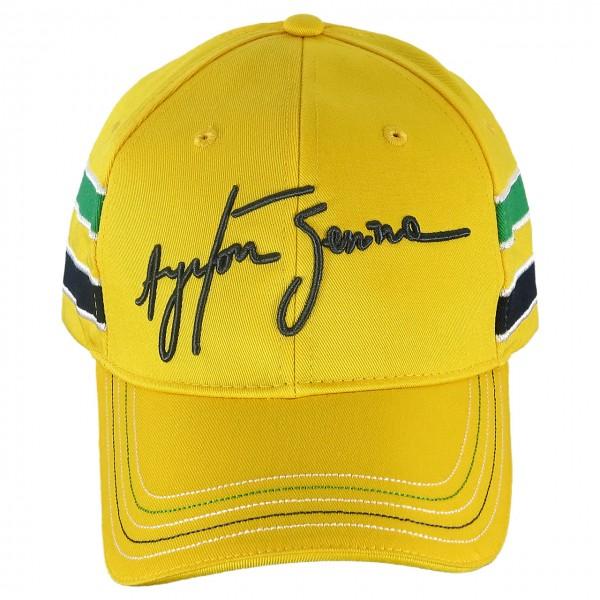 Ayrton Senna Cap Senna Helmet front
