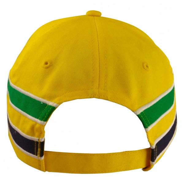 Ayrton Senna Cap Senna Helmet back