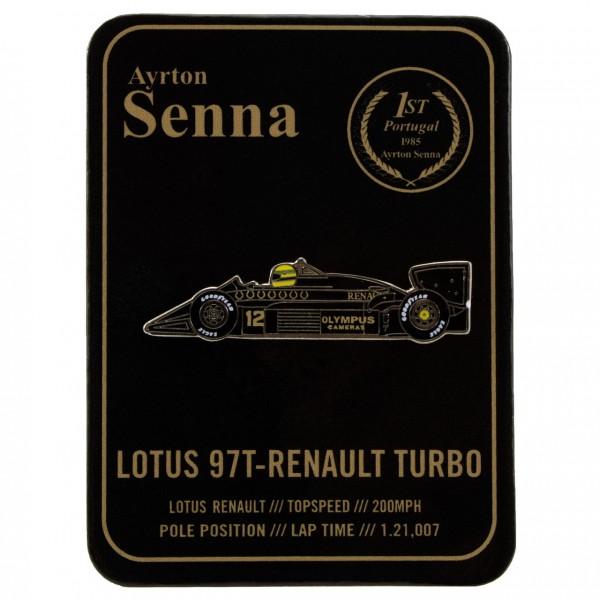 Ayrton Senna Pin Classic Team Lotus