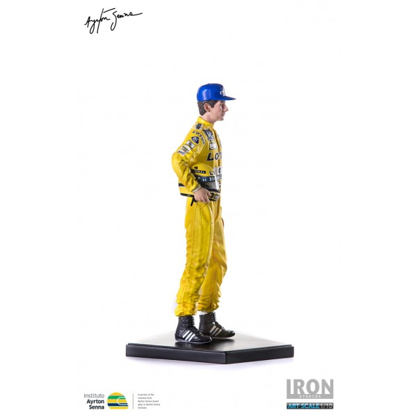 Ayrton Senna Iron Studios Monaco 1987 full model