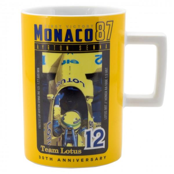 Ayrton Senna Tasse Monaco 1st Victory 1987