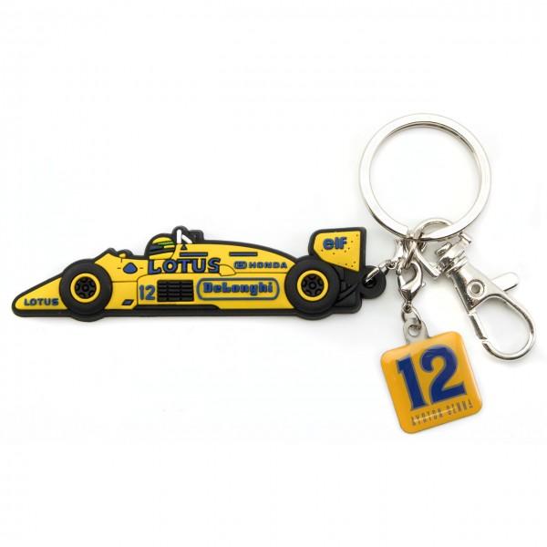 Ayrton Senna Schlüsselanhänger Monaco 1st Victory 1987 Classic Team Lotus