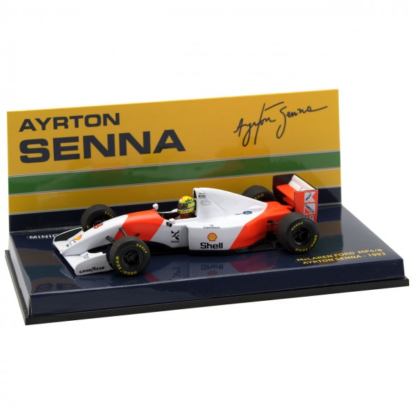 Ayrton Senna McLaren MP4/8 Minichamps 1/43