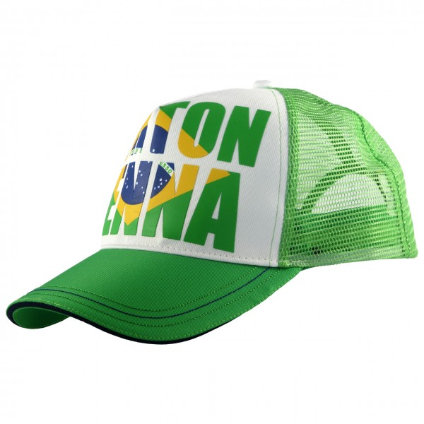 Ayrton Senna Cap Brazil left