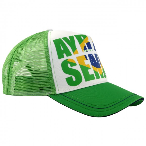Ayrton Senna Cap Brazil right