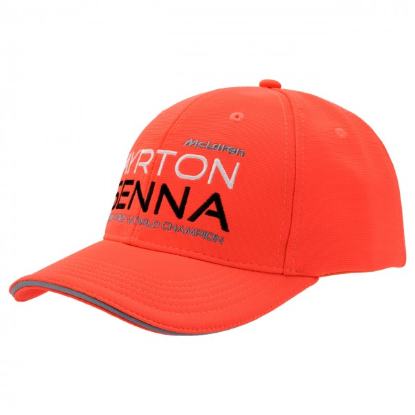 Cap Senna Three Times World Champion  McLaren