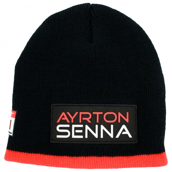 Ayrton Senna Beanie Three Times World Champion