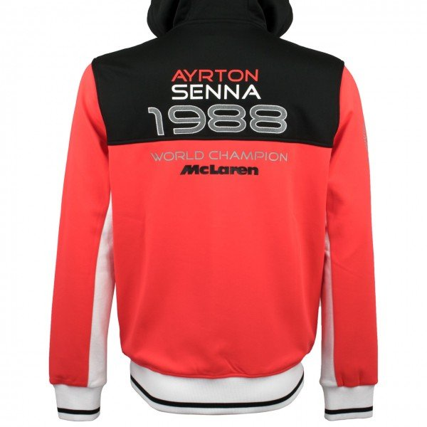 Ayrton Senna Zip Hoody World Champion 1988