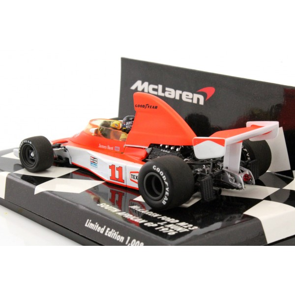 James Hunt McLaren Ford M23 GP de Sudáfrica Fórmula 1 1976 1/43