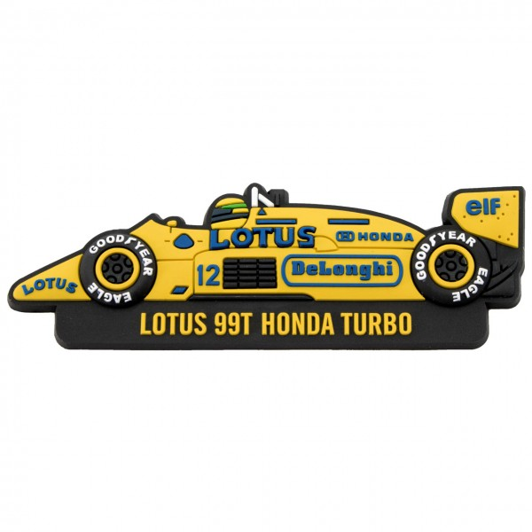Ayrton Senna Kühlschrankmagnet Monaco 1st Victory 1987 Classic Team Lotus