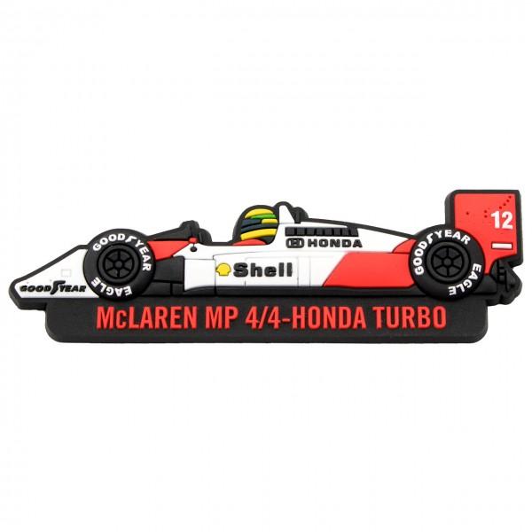 Ayrton Senna Kühlschrankmagnet McLaren