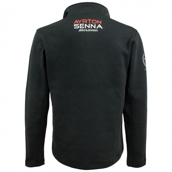Zip-Sweatshirt Senna Three Times World Champion McLaren