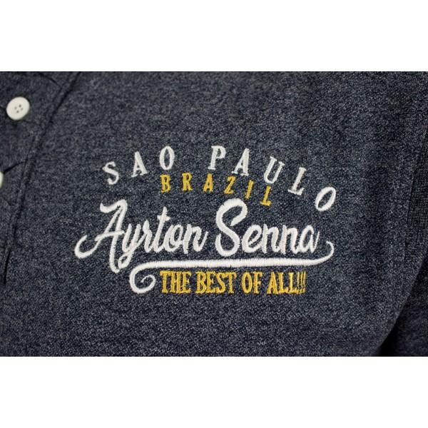 Ayrton Senna Polo-Shirt Sao Paulo