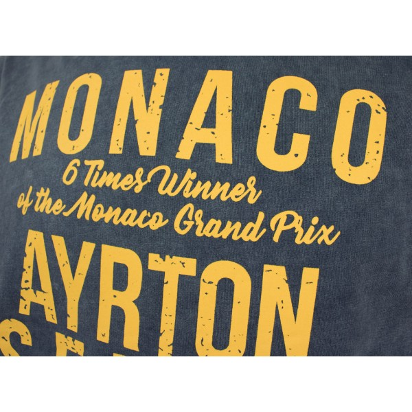 Ayrton Senna Hoodie Monaco 1987