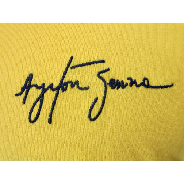 Ayrton Senna T-Shirt Racing detail 1