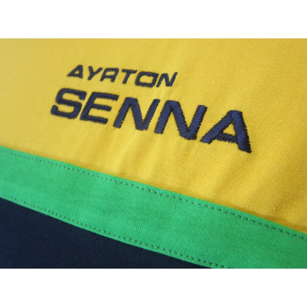 Ayrton Senna T-Shirt Racing detail 2
