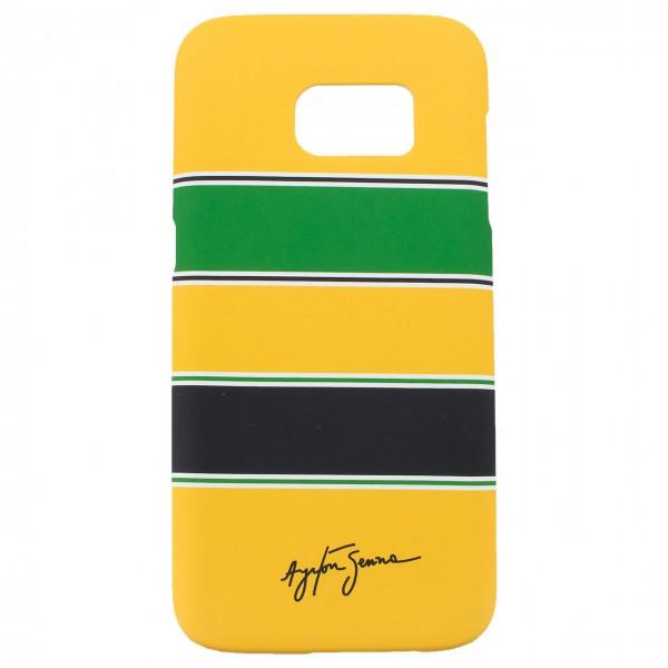 Ayrton Senna Schutzhülle Helm Galaxy S7