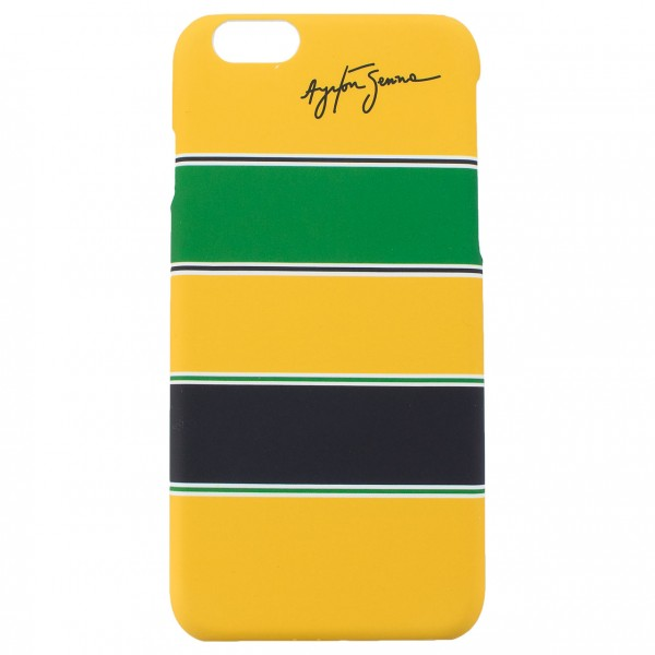 Ayrton Senna Phone Case Helmet iPhone 6/6s