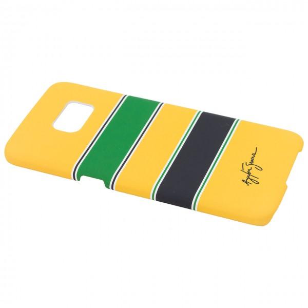Ayrton Senna Schutzhülle Helm Galaxy S7 Edge