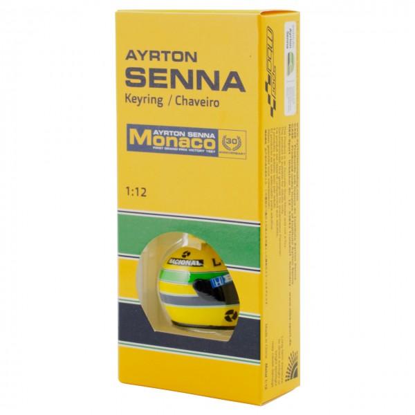 3D Keyring Ayrton Senna Helmet 1990