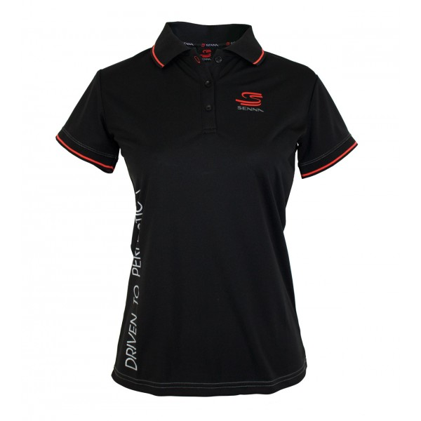 Ayrton Senna Ladies Polo Double S