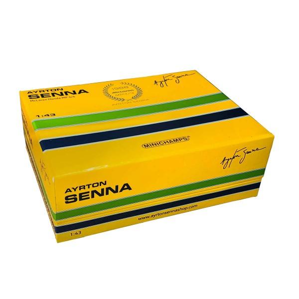 Ayrton Senna McLaren Honda MP4/4 Japan GP 1988 1:43