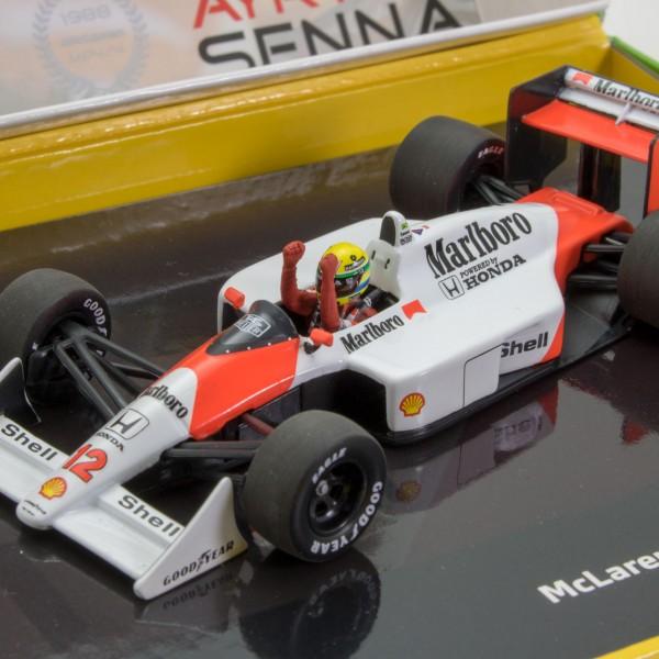 Ayrton Senna Mclaren MP4//4 #12 Champion Du Monde Japon Gp F1 1988 1:43