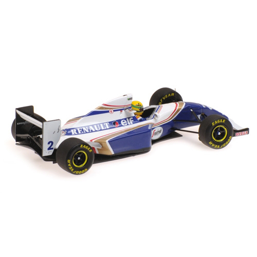 Ayrton Senna Williams Renault FW16 Brazilian GP 1994 1:43