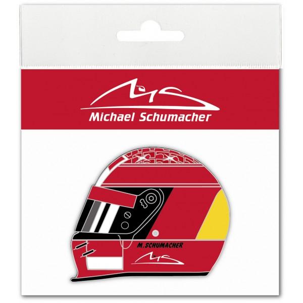 Michael Schumacher Aufkleber Helmet 2000