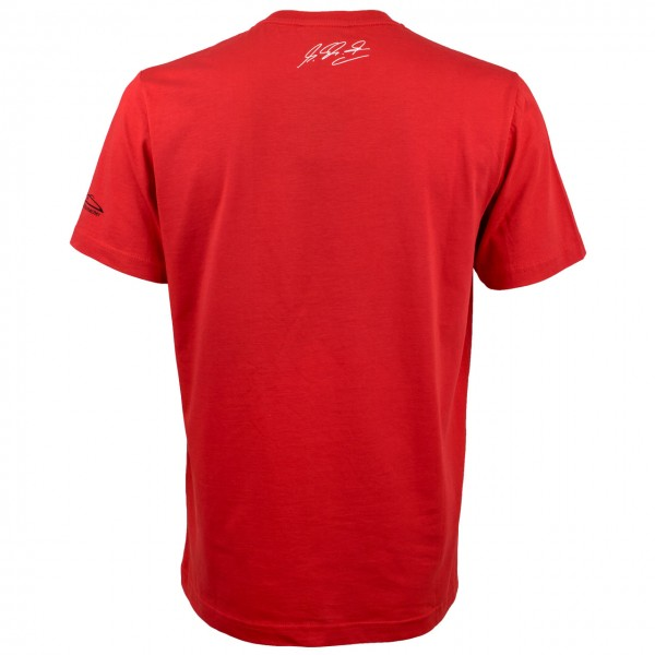 Michael Schumacher T-Shirt World Champion rot
