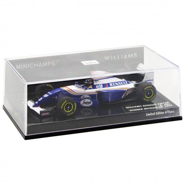 Damon Hill Williams FW16B Winner Belgien GP Formel 1 1994