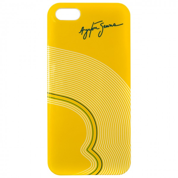 Ayrton Senna Smartphone Cover 5 5s Track Lines