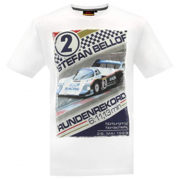Stefan Bellof T Shirt Record Lap 61113 Min
